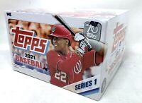 2021 Topps Series 1 Baseball Retail Display Box