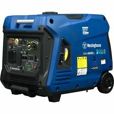 NEW Westinghouse IGEN4500DF Dual Fuel Inverter Generator SUPER QUIET