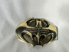Batman Forever, Traditional Type Metal Bat Buckle, Gold