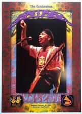 The Celebration Carlos Sanata Rock Concert Poster Naras Rockwalk Anniversary