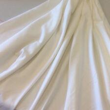 "1m White   Needlecord   Fabric  57""  (146 cms)  - 220gsm - 18 Wale"