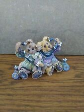 Boyds Bears & Friends Alexandra and Belle Telephone Tied # 227720 - 1999 Euc