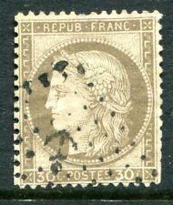 France Cérès N° 56 oblitéré oblitération cachet ancre