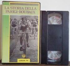 VHS Ita Documentario LA STORIA DELLA PARIGI-ROUBAIX ex nolo no dvd(VHS18)