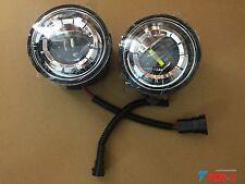 2pcs Front LED Fog Light Replace Kit For Nissan Patrol Y62 Infiniti QX56 QX80