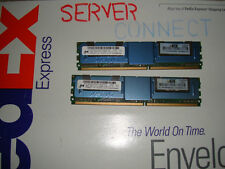Hp 8GB(2 x 4GB) PC2-3200 DDR2 ECC Memory Kit 348106-b21 345115-061 379984-001