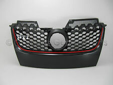 VW MK5 EURO Golf Jetta GTI Grill Front Honeycomb Center Grille NO HOLES '06-10