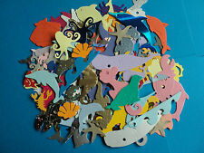 Bumper Pack Sealife animals mixed die cuts over 100 pieces
