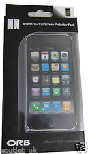 ORB iPhone 3G/3GS Screen Protector Pack