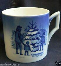 ROYAL COPENHAGEN 1979 BLUE KAI LANGE JULETRAEET MUG CUP