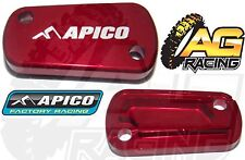 Apico Red Rear Brake Master Cylinder Cover For Suzuki RMZ 250 2004-2013 New