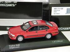MINICHAMPS - VOLVO S40 2000 ROUGE