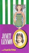 KatJan Reproduction Lennon Sisters Janet Lennon Paper Dolls W Punch Out Clothes