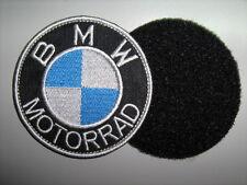 BMW MOTORRAD TOPPA PATCH RICAMATA DIAM.7 CM CON nastro a strappo