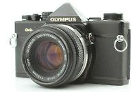 【Near MINT -】 Olympus OM-2N Black Camera w/ Zuiko MC 50mm f1.8 from JAPAN U009