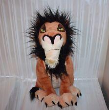 "Disney Store Exclusive THE LION KING Large 18"" SCAR Plush"