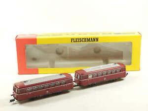 »Fleischmann H0 4400 DC · Schienenbus mit Beiwagen der DB · OVP«