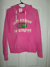 Women's Pink PINK VICTORIA'S SECRET Logo Pull Over Hoodie Shirt, Size M, GUC