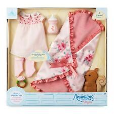 Disney Aurora Baby Doll Bedtime Accessory Set Animator Collection Toy Playset