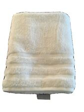 White Bamboo Bath Towel.