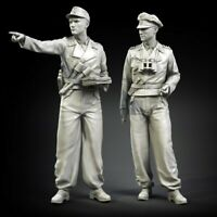 1/35 Resin German Armored Soldiers Early War unpainted unassembled BL790