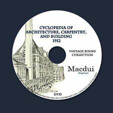 Cyclopedia of Architecture, Carpentry, and Building – 10 Volumes PDF on 1 DVD