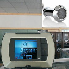 2.4'' LCD Visual Monitor Door Peephole Peep Hole Wired Viewer Camera Video YT
