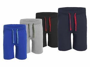 Men's  Plain Fleece Jersey Shorts  S-5XL