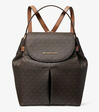 Michael Kors Backpack Bag Bedford LG Backpack Braun Acorn New
