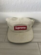 Supreme 5 Panel Hat Tan Great Condition!!