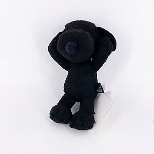 "Uniqlo Kaws X Snoopy Black Plush 11"" Small Plush Stuffed Animal New In Bag NWT"