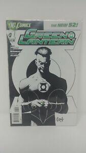 Green Lantern #1 Greg Capullo Sketch Variant Comic Book DC New 52