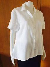 Linen Collared Button Down Shirt Tops & Blouses for Women