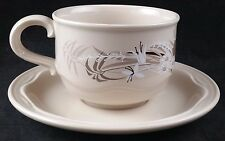 "Vintage Poole Pottery ""Mandalay"" Pattern Cup & Saucer"