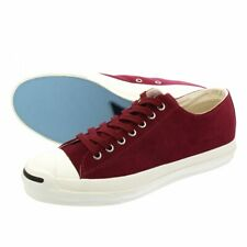 CONVERSE JACK PURCELL RET SUEDE Maroon Limited Red burgundy sneakers shoes