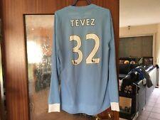 Manchester City Umbro Trikot Shirt M 42 Home Tevez 32 LS L/S Longsleeve langarm