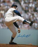 Sandy Koufax Autographed Signed 8x10 Photo ( HOF Dodgers ) REPRINT .