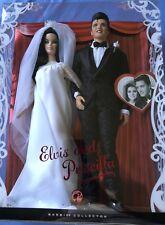 Barbie Elvis & Priscilla Presley Barbie Collector Pink Label