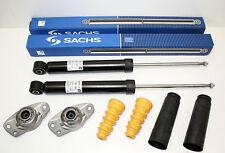 2x SACHS Stoßdämpfer + Domlager + Staubschutz hinten VW Golf V/VI/ u.a. 310950