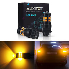 Pair 48smd Turn Signal Light 3157 Amber Yellow LED Bulb for 01~12 Ford Escape