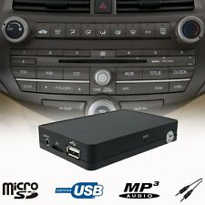 Car USB SD MP3 Player CD Changer Adapter Interface Honda Accord Civic 2003-2011