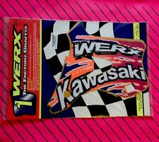 Werx Graphics Decals Super Evo Kx 125 250 Kawasaki Motocross 1994-1998