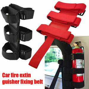 Fire Extinguisher Holder Car Accessories for Jeep Wrangler Tj Jk Jl 1997-2018
