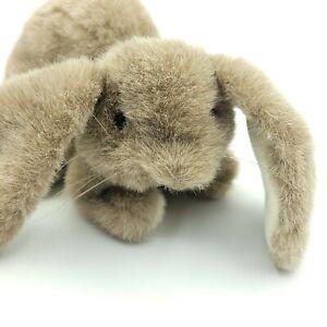 "Folkmanis Folktails Bunny Rabbit Hand Puppet 11"" Vintage Plush Toy Pretend Play"