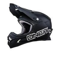 ONeal 3Series MX Helm MATT Schwarz XXL Moto Cross Enduro Motorrad Quad ATV SX
