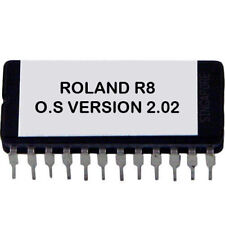 Roland R-8 firmware Version 2.02 firmware OS update EPROM R8 drum machine