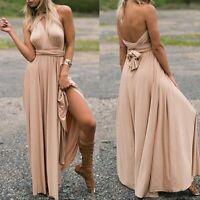 Ball gown dresses evening dress maxi convertible multi way wrap long Women