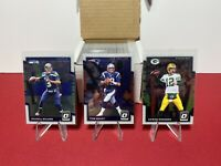2017 Donruss Optic Football Complete Base Set (1-100) Brady, Rodgers, Wilson