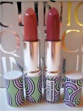 Clinique Jonathan Adler Lipstick Lot 2 ~ Nude Pop & Plum Pop ~ Full Size, New!
