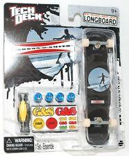 TECH DECK LONGBOARD Fingerboard SKATEBOARD G&S GORDON & SMITH w STICKERS C NEW